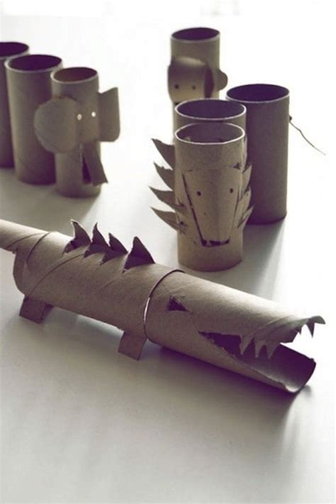 Cardboard Papercraft - 10 crafty cardboard ideas tinyme