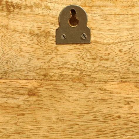 mensole da muro in legno mensole a muro in legno massiccio 2 articoli vidaxl it