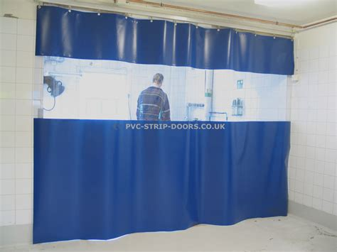 dust curtains screens static workshop divider dust screens