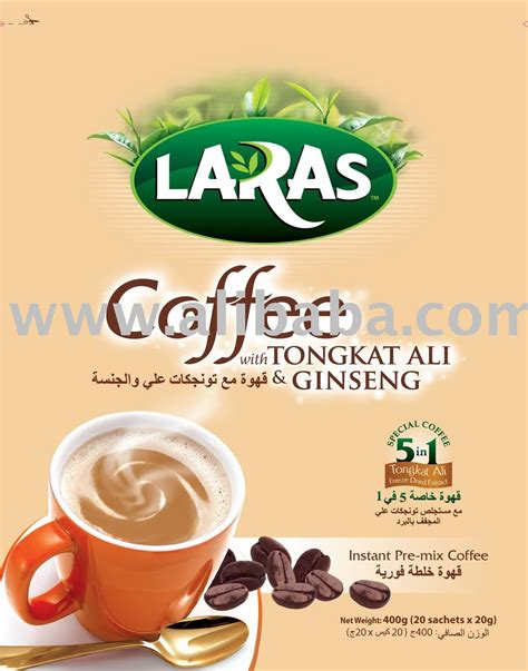 Ginseng Malaysia 5 in 1 coffee with tongkat ali and ginseng extracts