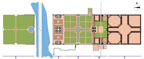 taj mahal floor plan file taj site plan png wikimedia commons