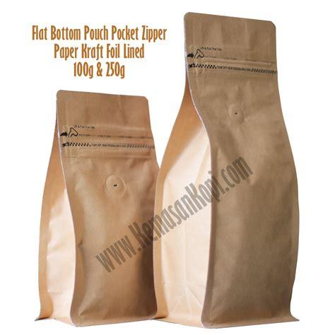 Kopi Arabika Flores Bajawa 100gr Qs4 flat bottom pouches coffeeshop co id
