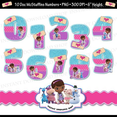 Kitchen Booth Ideas by Instant Downlowd Doc Mcstuffins Numbers Doc Mcstuffins