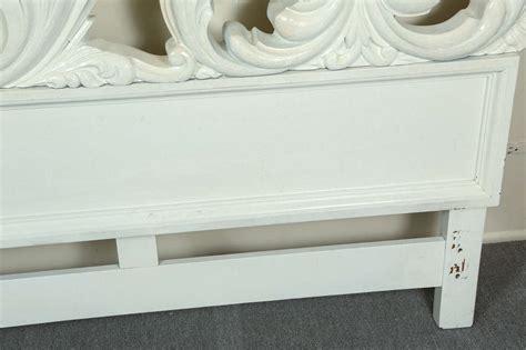 glamorous headboards glamorous carved wood baroque headboard at 1stdibs