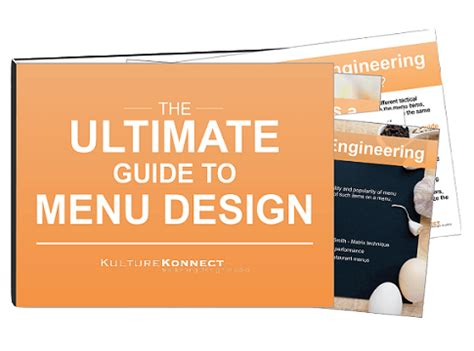 the branding blueprint the ultimate guide to creating your brand right the time books the ultimate guide to menu design kulture konnect