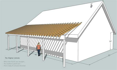 pin  paul hines  home projects porch roof building
