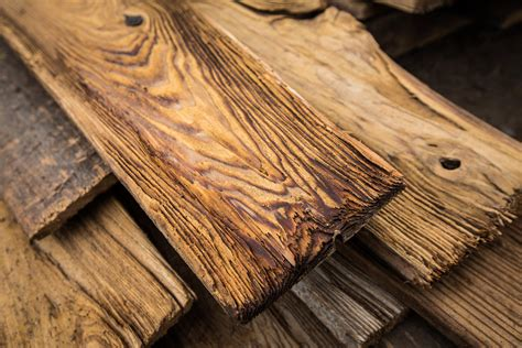 Unique Countertops mushroom wood porter barn wood