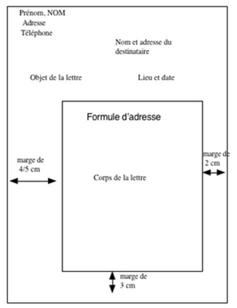 Présentation Lettre Amicale Fran 231 Ais Correspondance