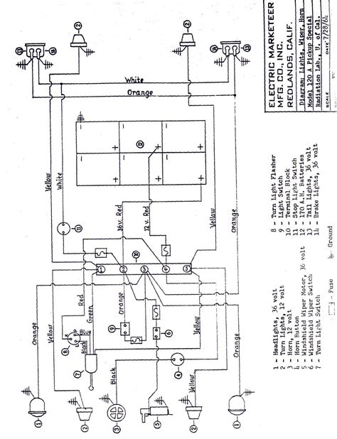 melex gas golf cart wiring diagram free wiring