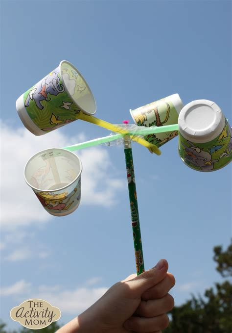 the activity science experiments at home