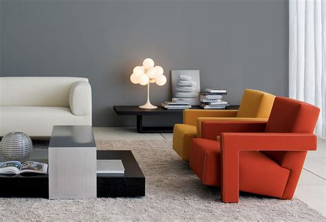 utrecht armchair designed  gerrit  rietveld
