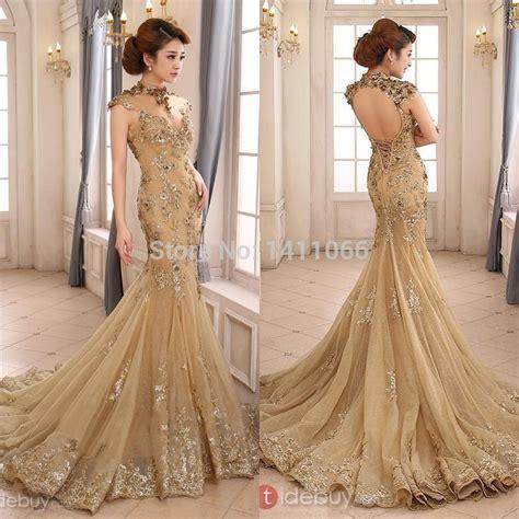 Wedding Gold by Get Cheap Gold Wedding Dresses Aliexpress