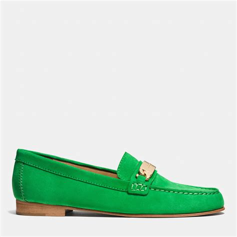 Coach Kimmie Loafer in Green   Lyst