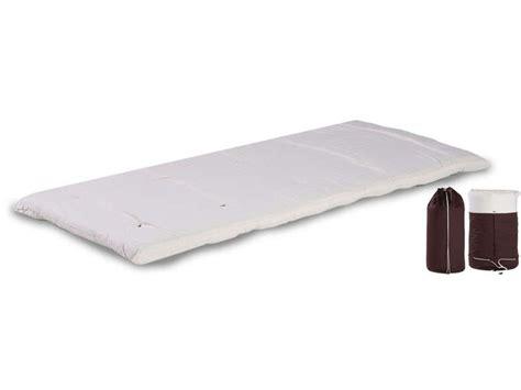 Matelas D Appoint Futon Matelas Futon Ouate 80x190 Cm Bed In Bag Coloris 233 Cru Vente De Lit D Appoint Et Matelas