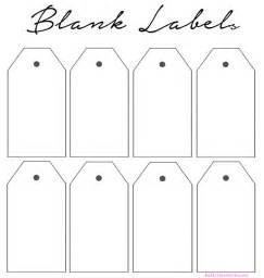 blank tag template best photos of blank labels to print printable blank