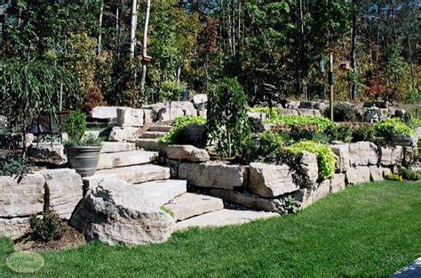 Rock Garden Design And Construction Muskoka Landscaping Services Gardens Of Prestige