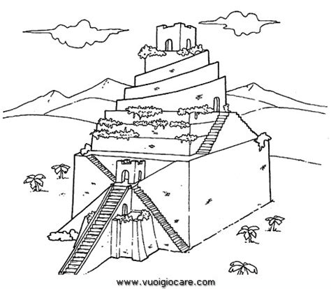 Ziggurat Disegni Da Colorare The Colouring Book L