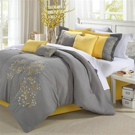 chic home bedding chic home floral 8 piece comforter set reviews wayfair