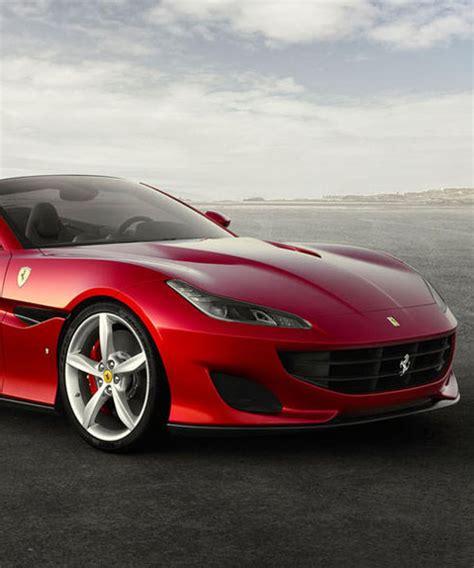 designboom ferrari ferrari portofino convertible gt takes styling cues from