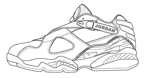 coloring pages air jordans air jordan retro coloring pages