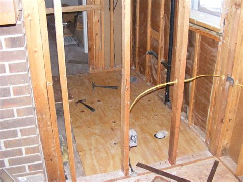 how to replace subfloor in bathroom repairing a bathroom subfloor