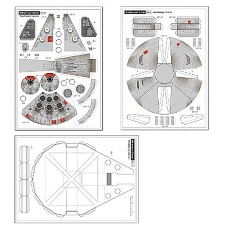 Starwars Papercraft - papercraft templates wars images