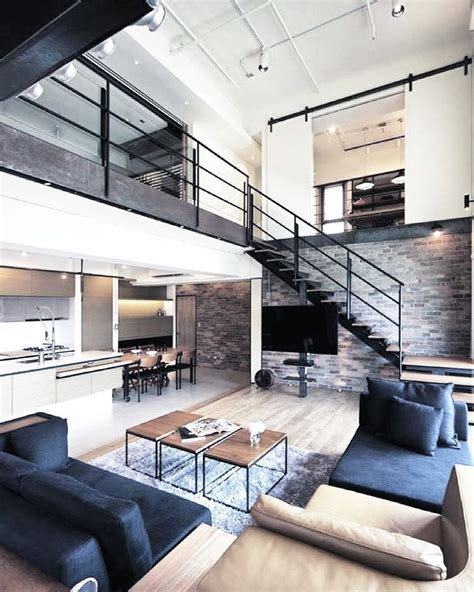 25 best ideas about modern loft apartment on