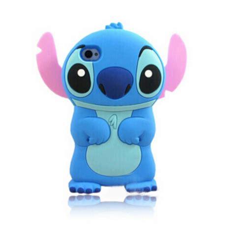 Handset Stitch 2 pin capa lilo stitch disney silicone iphone 5 5g r