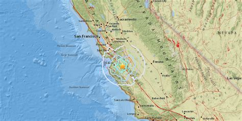 Monterey County Records Earthquake Swarm Hits Monterey County Felt In Sf Sfgate