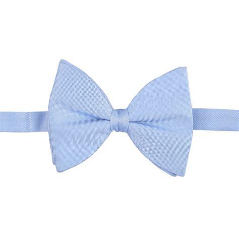 light blue bow tie light blue panama silk pre tied butterfly bow tie james