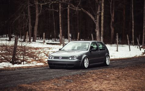 4 Car Wallpaper by Volkswagen Car Stance Golf Iv Wallpapers Hd Desktop