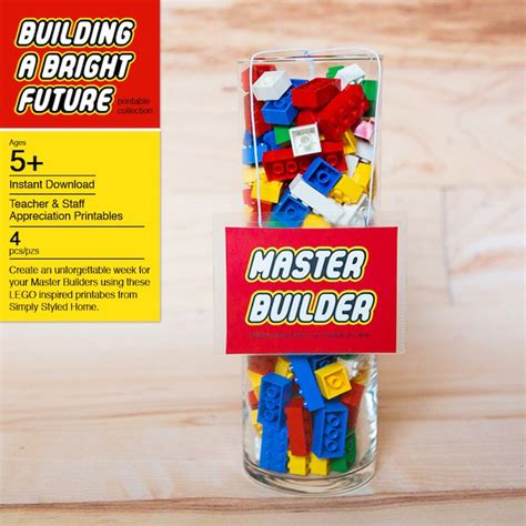 education themed gifts kara s party ideas lego inspired teacher appreciation