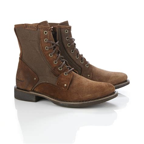 mens brown dress boots oasis fashion