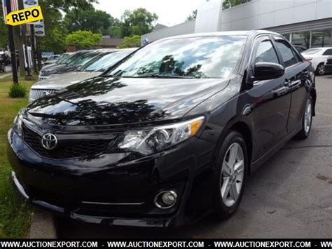 Toyota Repossessed My Car Used 2012 Toyota Camry Se Repo Car For Sale At Auctionexport