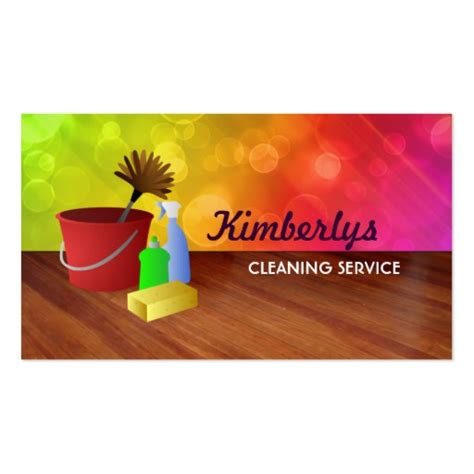 House Cleaning Business Cards by Home Cleaning Business Cards Zazzle