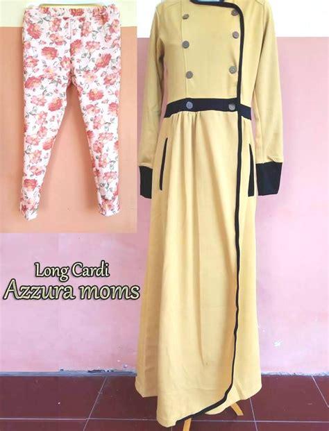Ayyanameena Mukena Bisyara 2 Pink cardi yellow baju muslim gamis modern
