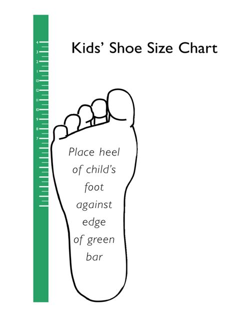 printable shoe size chart pdf kids shoes size chart style guru fashion glitz