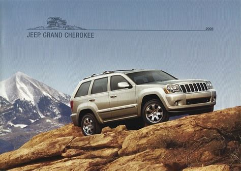 jeep clothing nz 2008 jeep grand brochure catalog 08 overland srt8