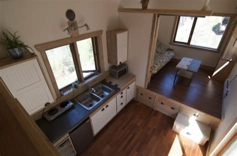 Tiny House Without Loft by 230 Sq Ft V House By Nelson Tiny Houses