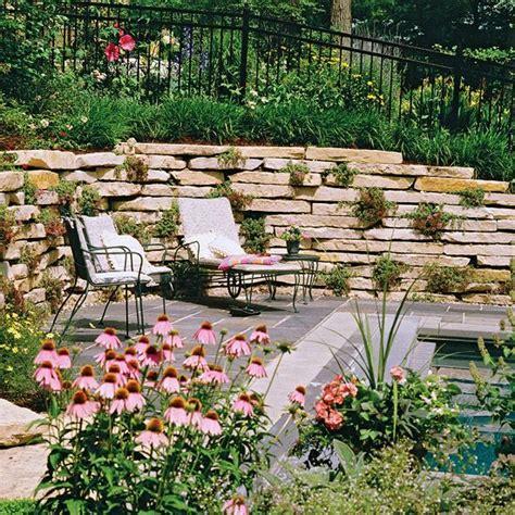 sloped backyard solutions 405 best images about fences gates walls trellises