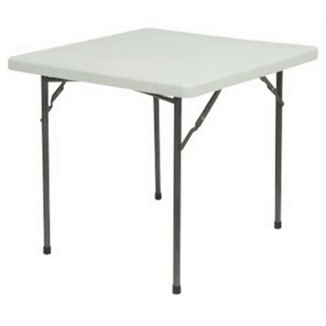 2 square folding table polyfold square folding table