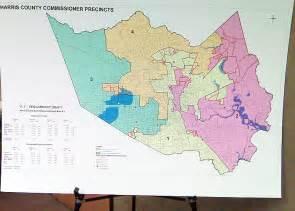harris county precinct map new 1 harris county precinct map