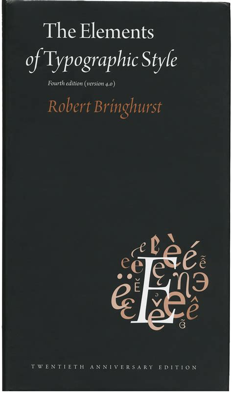 the elements of typographic style version 4 0 typographica
