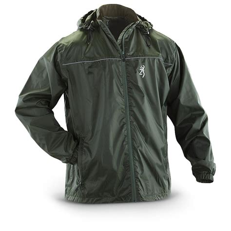 Browning® Weather   resistant Jacket   292235, Rain Jackets & Rain Gear at Sportsman