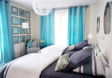 turquoise bedroom curtains turquoise and navy kids bedrooms contemporary bedroom