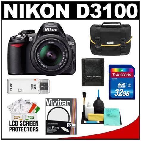 Cek Kamera Nikon D3100 get the best price for nikon d3100 digital slr 18 55mm vr lens with 32gb card filter