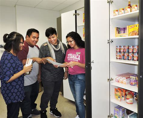 College Food Pantry by Colleges Looking To Fill Food Pantry Cupboards La Mesa