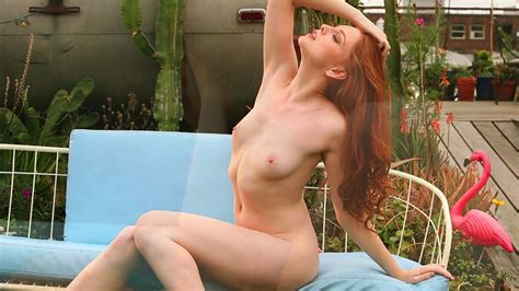 Redhead Shows Off In Sexy Solo Xbabe Video
