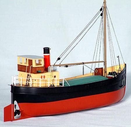slipway and boat r model slipway 1920 s puffer boat rc ready
