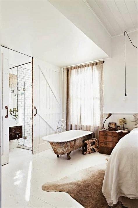 chambre baignoire la salle de bain ouverte une tendance qui s affirme